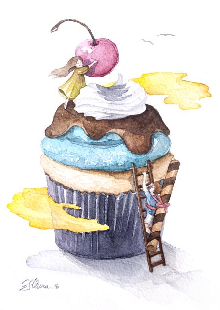 Mt Cupcake